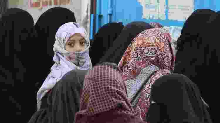 Países com conflitos, com o Iêmen, estão em posições baixas no ranking de países mais generosos - EPA - EPA