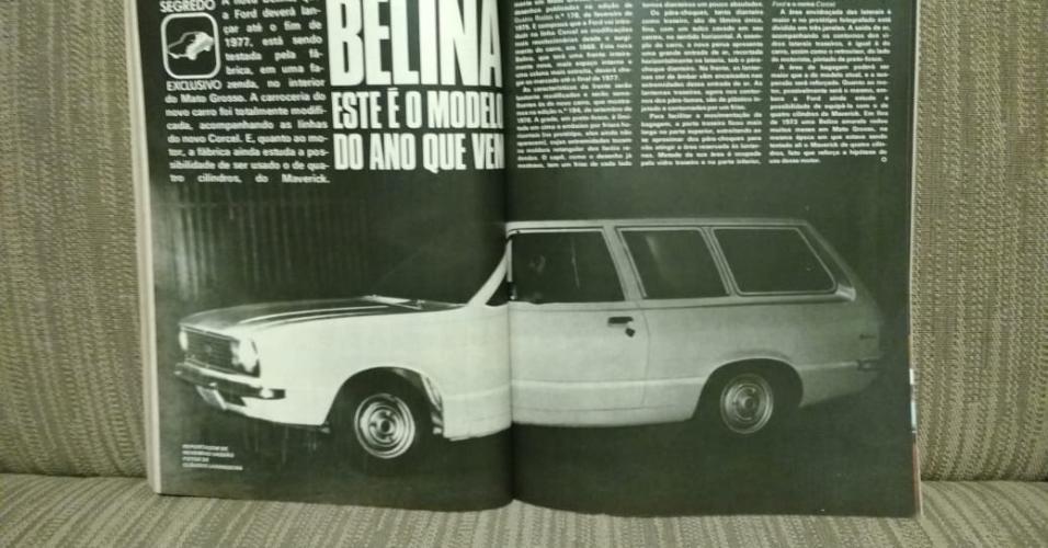 Ford Belina flagra Larangeira