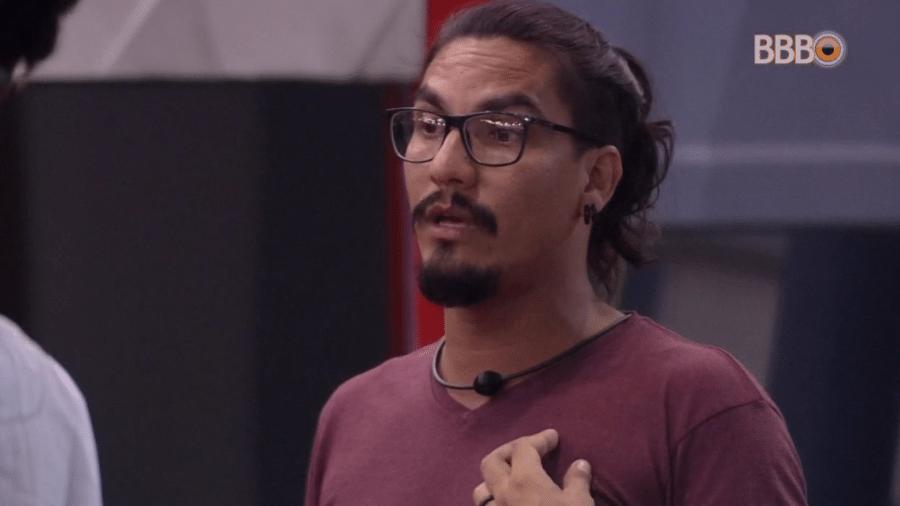 Vanderson esclarece brincadeira de Gustavo em conversa com brothers - Reprodução/Globoplay