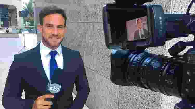 Daniel Adjuto, repórter gato do SBT - Reprodução/Instagram - Reprodução/Instagram