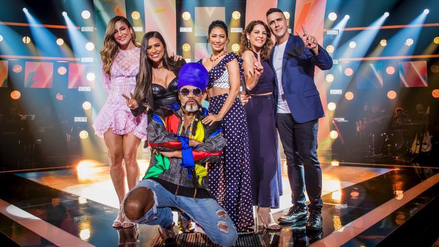 """Apresentadores e jurados do """"The Voice Kids""""  - João Miguel Jr./Globo)"""