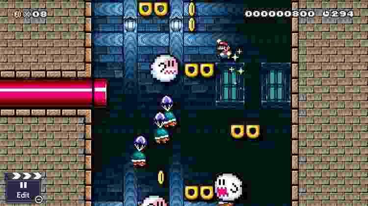 Super Mario Maker 2 - Ghost - Divulgação - Divulgação