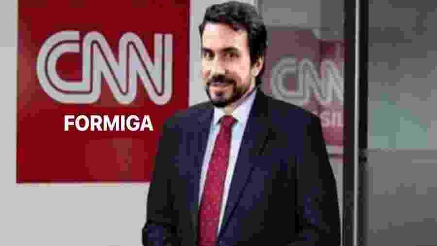 """Evaristo Costa anuncia Padre Fábio de Melo como """"nova contratação"""" da CNN Brasil - Reprodução/Instagram"""