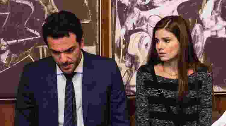 Rodrigo Lombardi e Camila Queiroz em Verdades Secretas - Globo/Estevam Avellar - Globo/Estevam Avellar