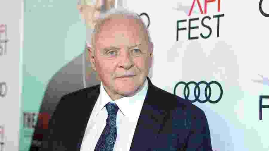 Anthony Hopkins comparece para evento de lançamento do filme Dois Papas - Rich Polk/Getty Images