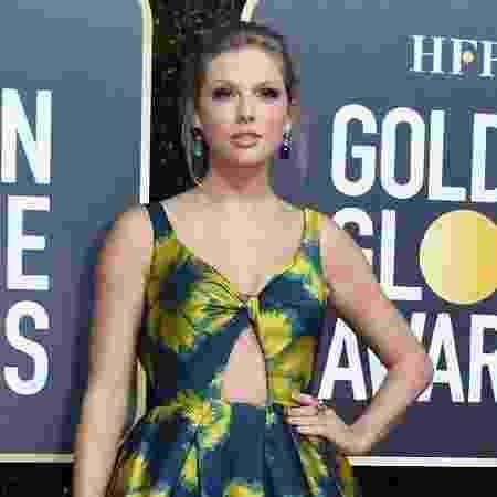 A cantora Taylor Swift, que concorre pela música de Cats - Valerie Macon/AFP