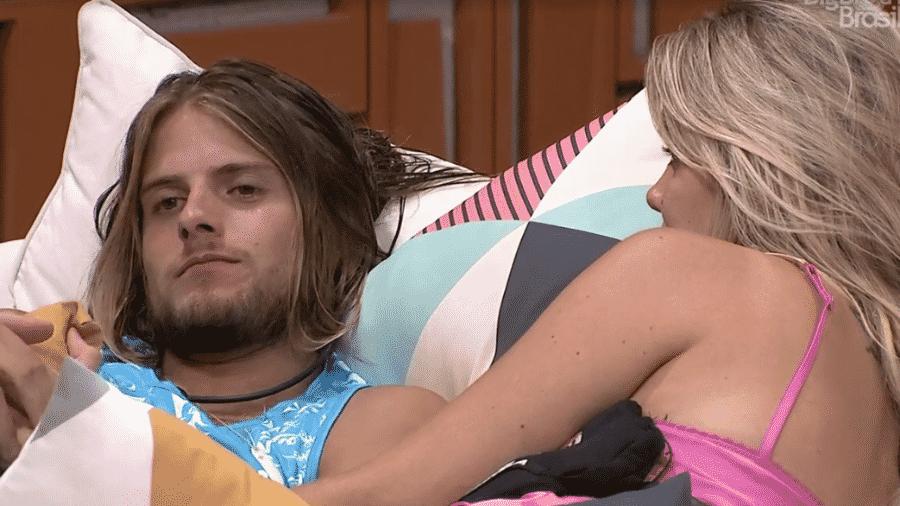 Daniel e Marcela conversam sobre Pyong - Reprodução/Globoplay