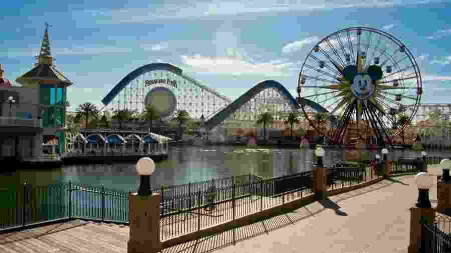 Disney da Califórnia teve de fechar as portas por tempo indeterminado   - Getty Images