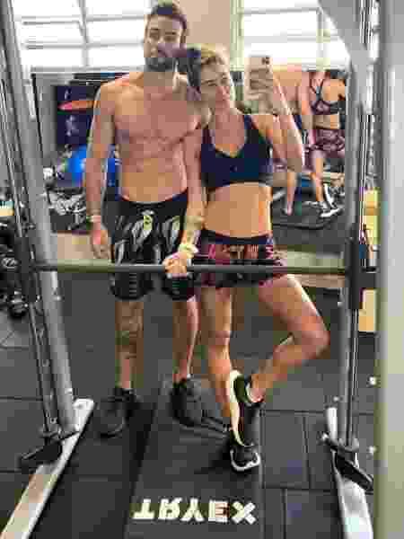 Gabriela Pugliesi e o marido, Erasmo Vieira - Reprodução/Instagram