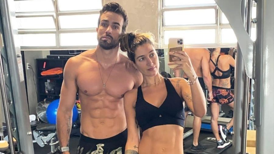 Gabriela Pugliesi e o marido, Erasmo Viana - Reprodução/Instagram