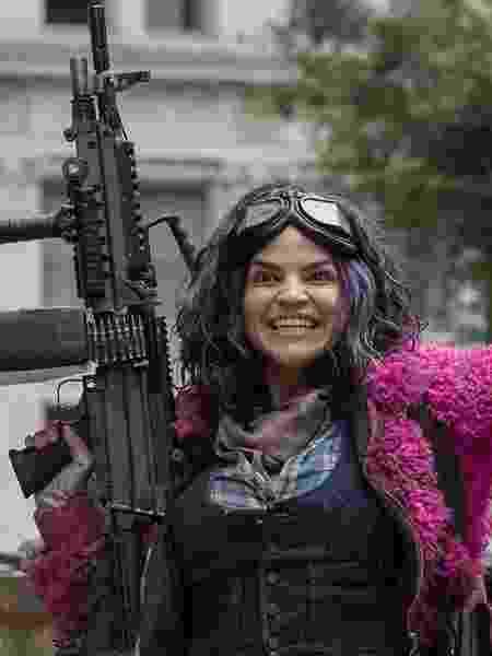 Princesa (Paola Lázaro), a nova personagem de 'The Walking Dead' - Divulgação - Divulgação