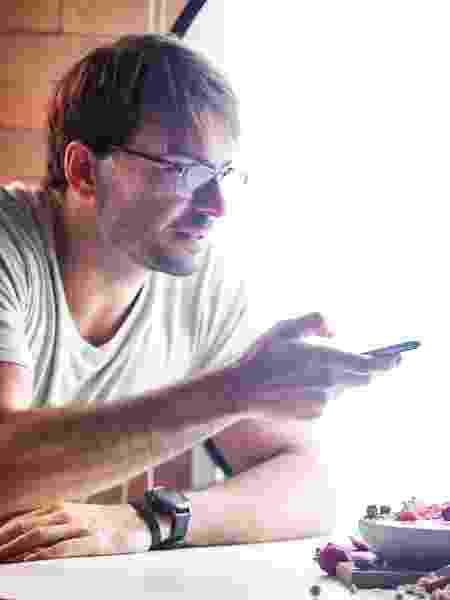 O criador de conteúdo gastronômico digital Betto Auge - Arquivo Pessoal