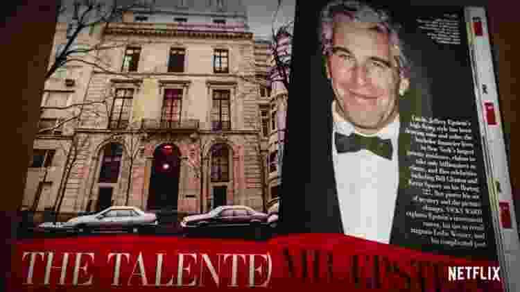 Vanity Fair com Jeffrey Epstein - Reprodução/Netflix - Reprodução/Netflix