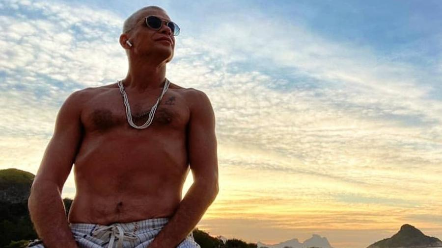 """Fábio Assunção, após perder peso para um papel na série """"Fim"""" (TV Globo) - Reprodução/Instagram"""
