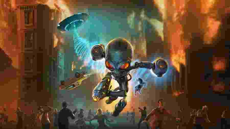 Destroy All Humans - Divulgação