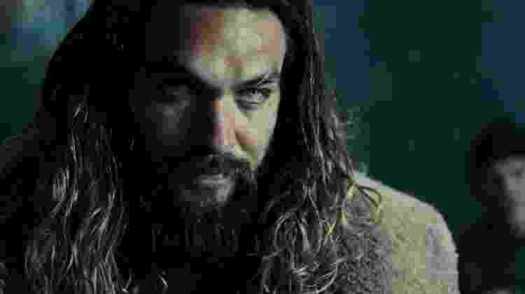 O ator Jason Momoa como Aquaman em 'Liga da Justiça' - Reprodução - Reprodução
