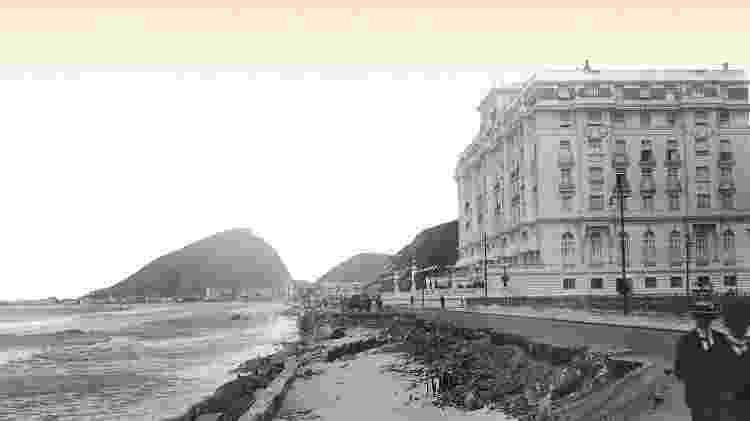 Copacabana Palace antiga - Divulgação Belmond Copacabana Palace - Divulgação Belmond Copacabana Palace