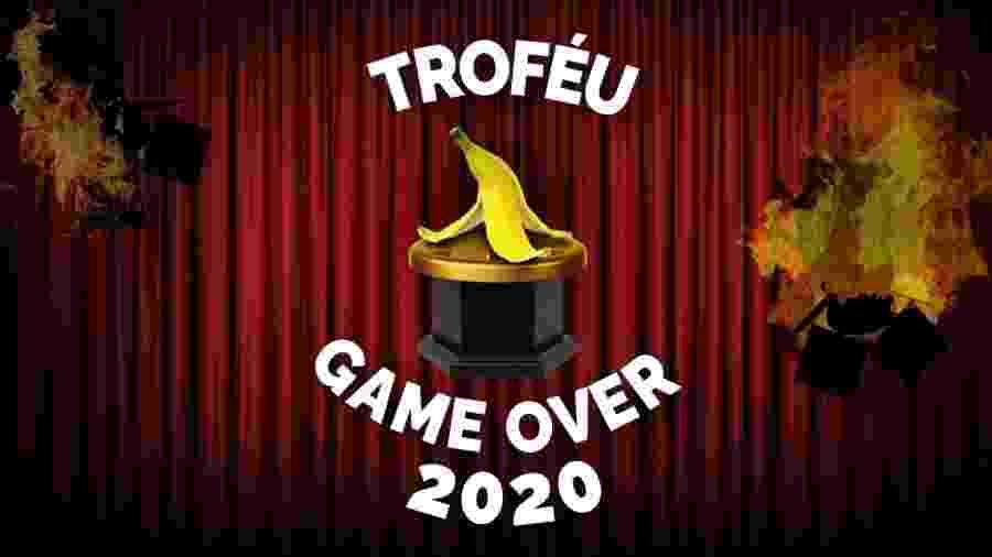 Troféu Game Over 2020 - Montagem / Allan Francisco