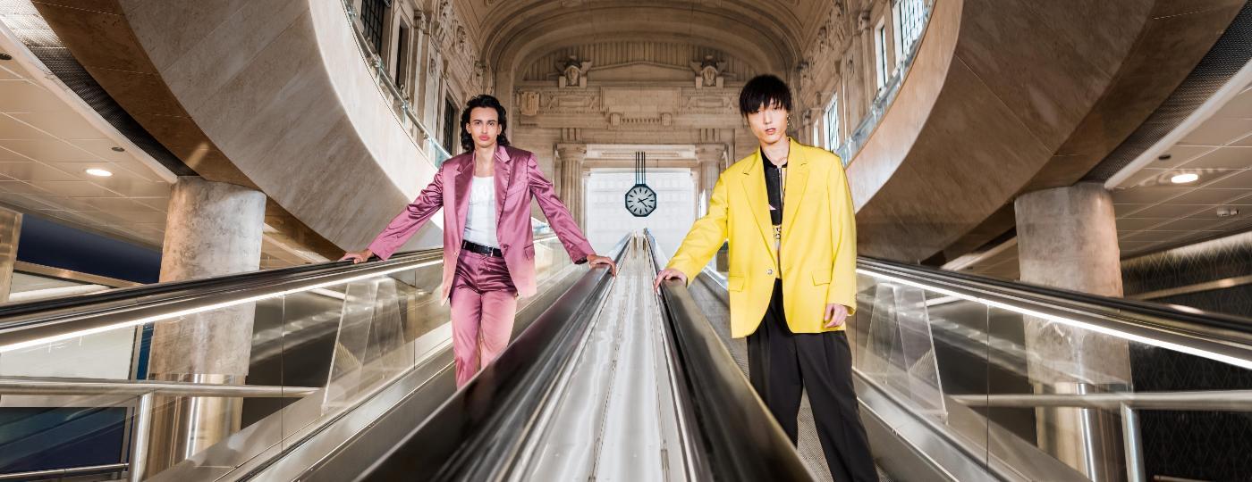 Misturando o presencial e digital, Semana de Moda Masculina de Milão mostrou algumas das tendências que dominarão o outono/inverno - Divulgação/MSGM