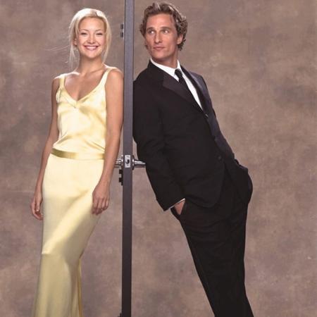 Kate Hudson e Matthew McConaughey no cartaz da comédia romântica - Reprodução