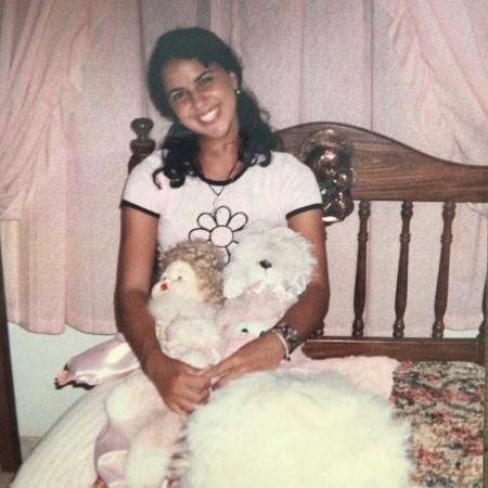 Graciele Lacerda relembra adolescência e surpreende - Instagram