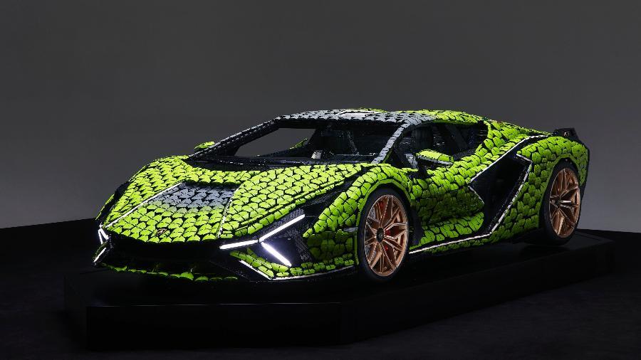 Lamborghini Sián FKP 37 de Lego - Divulgação