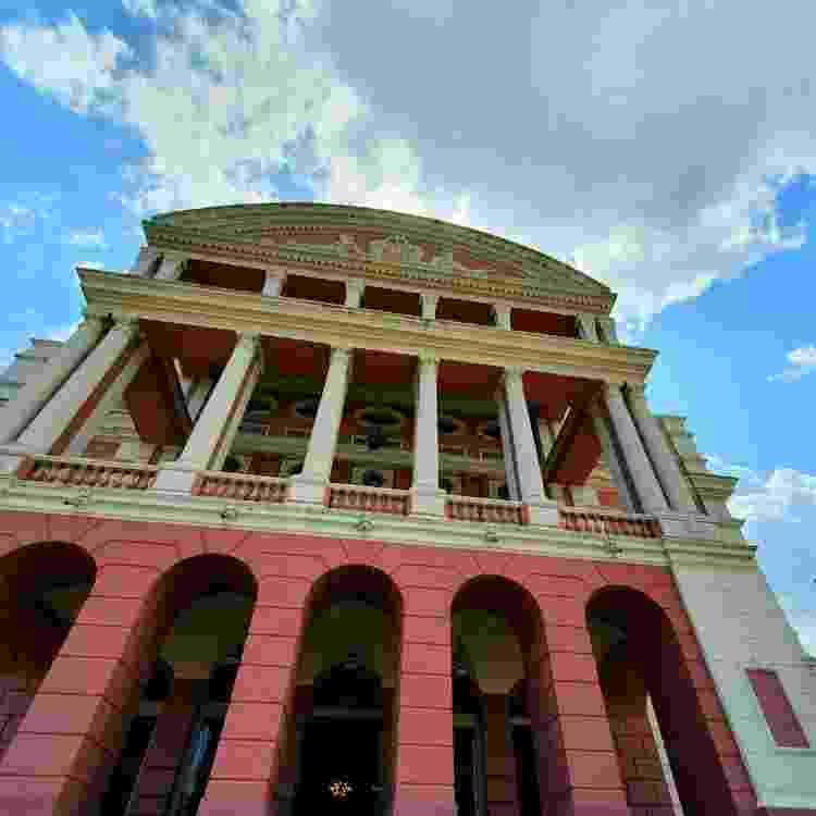 Centro histórico de Manaus: onde fica o Caxiri - Reprodução - Reprodução