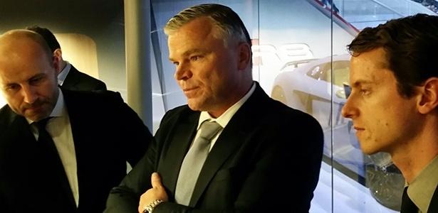 "Jörg Hofmann, presidente da Audi no Brasil: ""momento é de garantir resultados"" - Eugênio Augusto Brito/UOL"