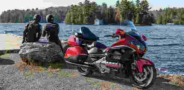 Gold Wing: moto de luxo da Honda tem falha no airbag - Divulgação