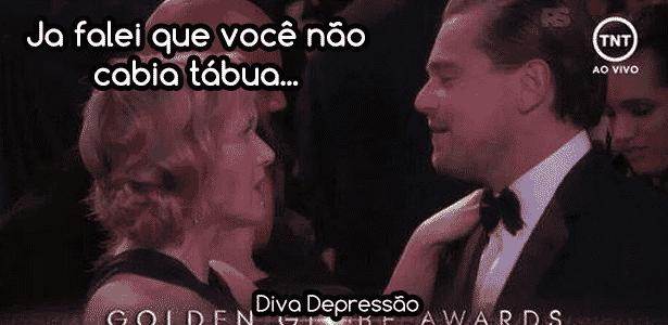 Diva Kate DiCaprio - Montagem/Diva Depressão - Montagem/Diva Depressão