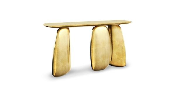 A mesa Ardara é uma das novidades da marca Brabbu na mostra Maison&Object Paris - Divulgação/ Brabbu