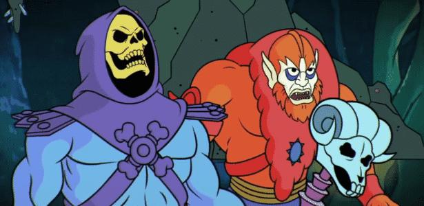 """Esqueleto está mais sarcástico e menos assustador em """"He-Man"""" - Reprodução - Reprodução"""