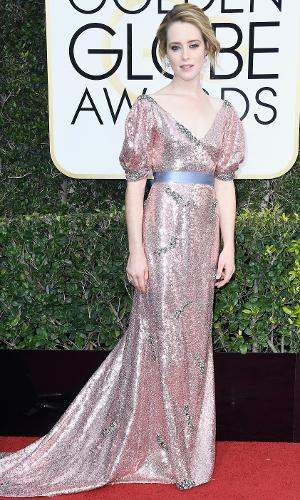Globo de Ouro 2017: Claire Foy