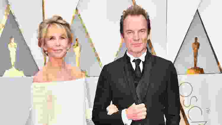Sting e Trudie Styler - Getty Images - Getty Images