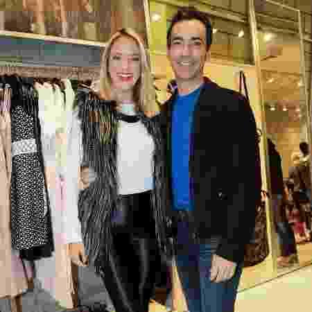 Ticiane Pinheiro levou o namorado César Tralli para viagem ao Uruguai após reatar - Manuela Scarpa/Brazil News