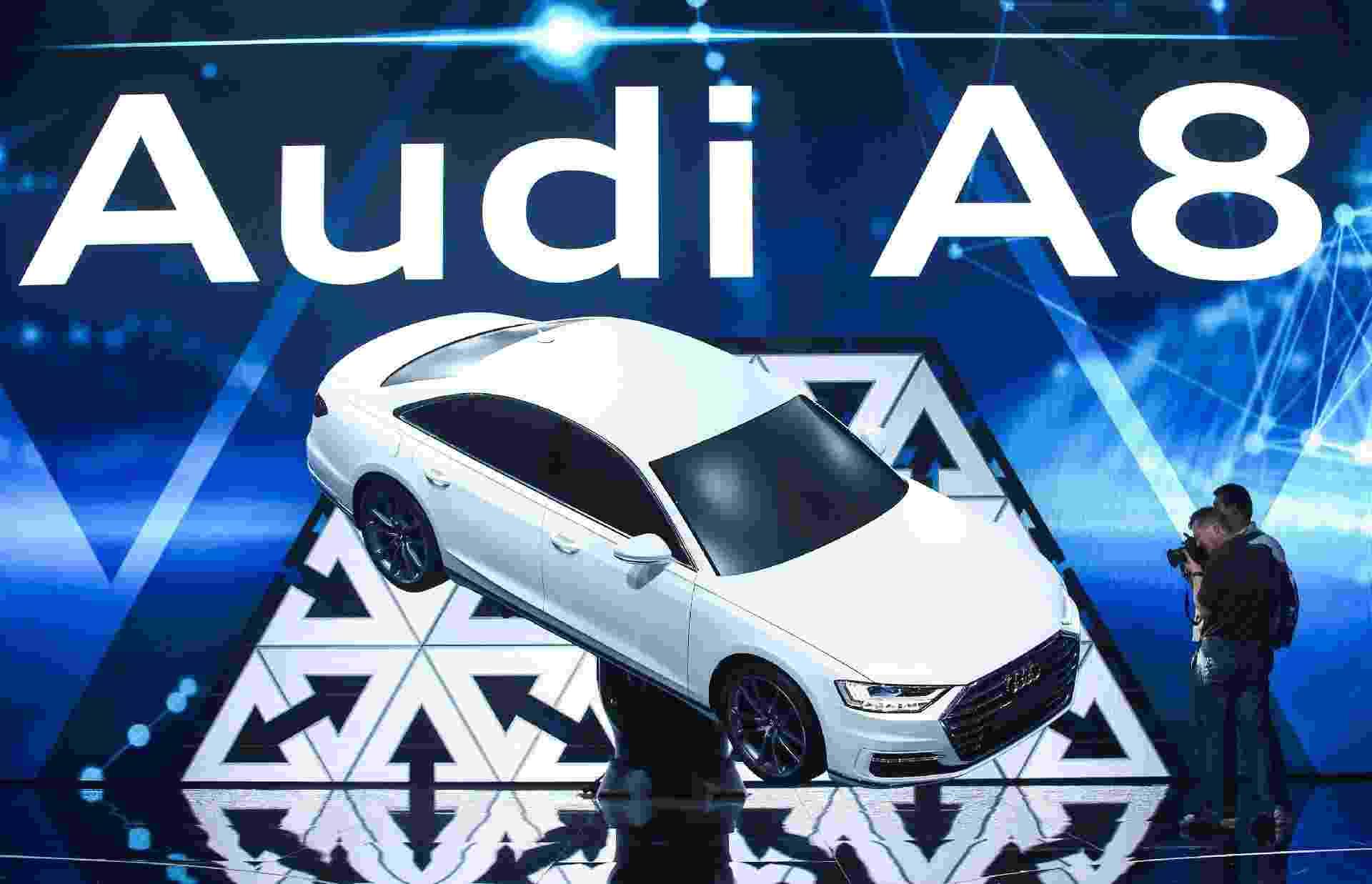 Quarta geração do Audi A8 - Albergou Gea/Reuters