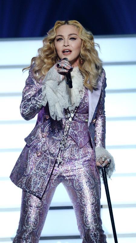 Madonna durante apresentação no Billboard Music Awards, em 2016 - Getty Images