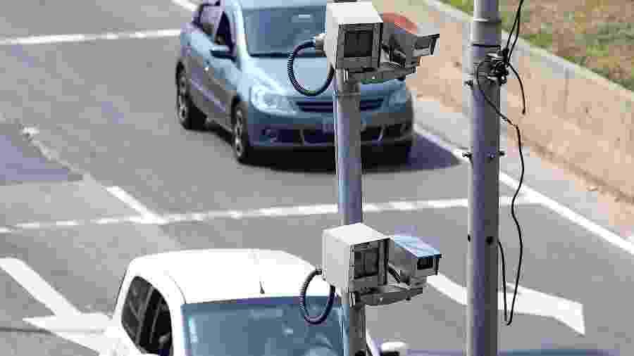 Radares em São Paulo são alvo de questionamentos, mas funcionam - Newton Menezes/Futura Press/Folhapress