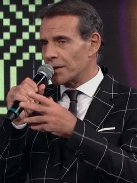 Mário Gomes pega Faustão de surpresa - Reprodução/TV Globo