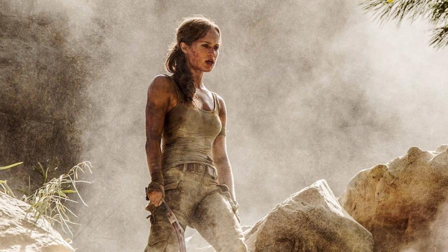 """Cena de """"Tomb Raider"""" - Divulgação"""