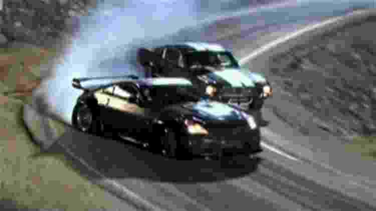 Cena de drifting em Velozes e Furiosos: Tokyo Drift - Reprodução - Reprodução