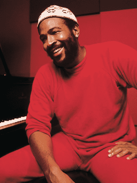 O cantor Marvin Gaye - Reprodução
