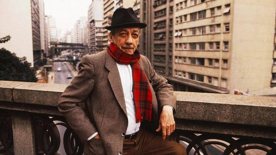 Adoniran Barbosa, um dos mais importantes nomes do samba de São Paulo e do Brasil, invenção do humorista João Rubinato - Divulgação