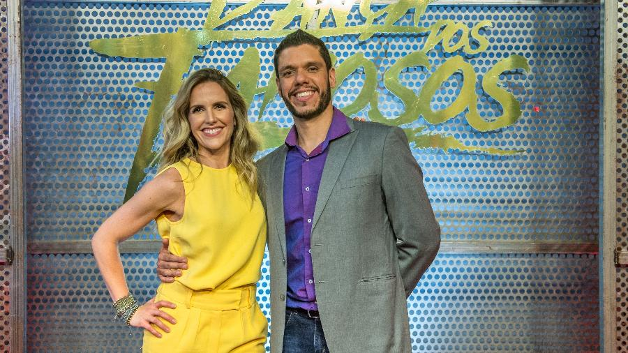 """Na """"Dança dos Famosos"""", Mariana Ferrão é par do professor Ricardo Espeschit - Fábio Rocha/Divulgação/TV Globo"""