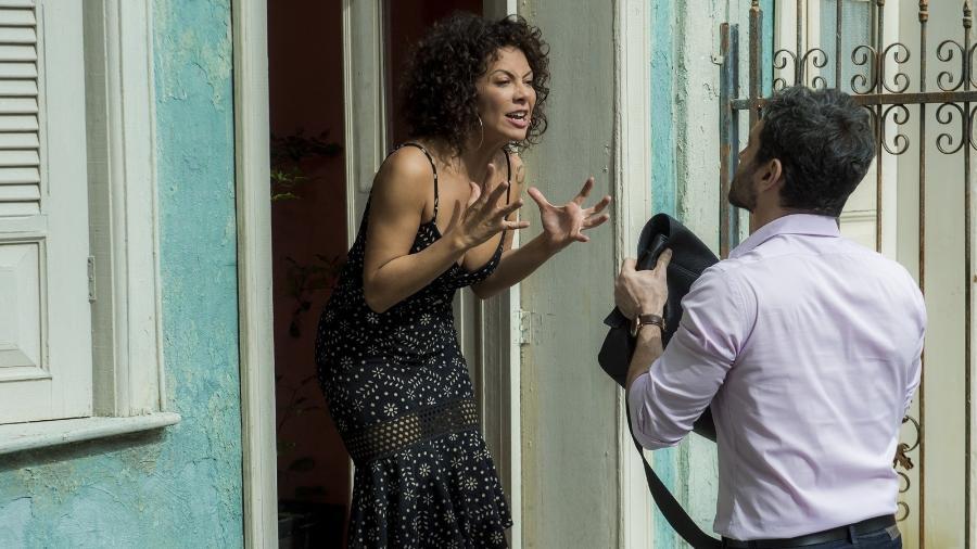 """Cacau se revolta e expulsa Edgar de casa em """"Segundo Sol"""" - Raquel Cunha/Globo"""