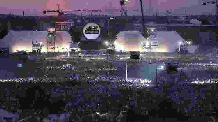 """Imagem do show """"The Wall-Live In Berlin"""" - Reprodução - Reprodução"""