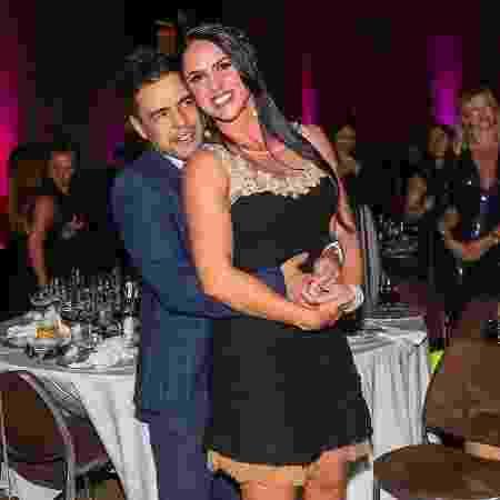 Zezé e Graciele Lacerda - Marcos Ribas/Brazil News