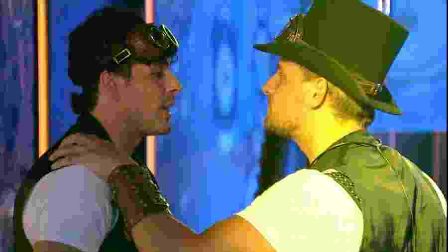 Diego e Maycon conversam sobre Isabella - Reprodução/Gshow