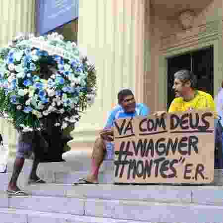 Corpo de Wagner Montes é velado na Assembleia Legislativa do Estado do Rio de Janeiro - AgNews - AgNews