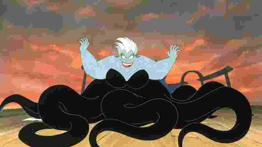 """Ursula, a vilã de """"A Pequena Sereia"""" - Divulgação/IMDb"""